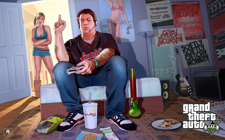 421651.jpg - Grand Theft Auto 5 обои