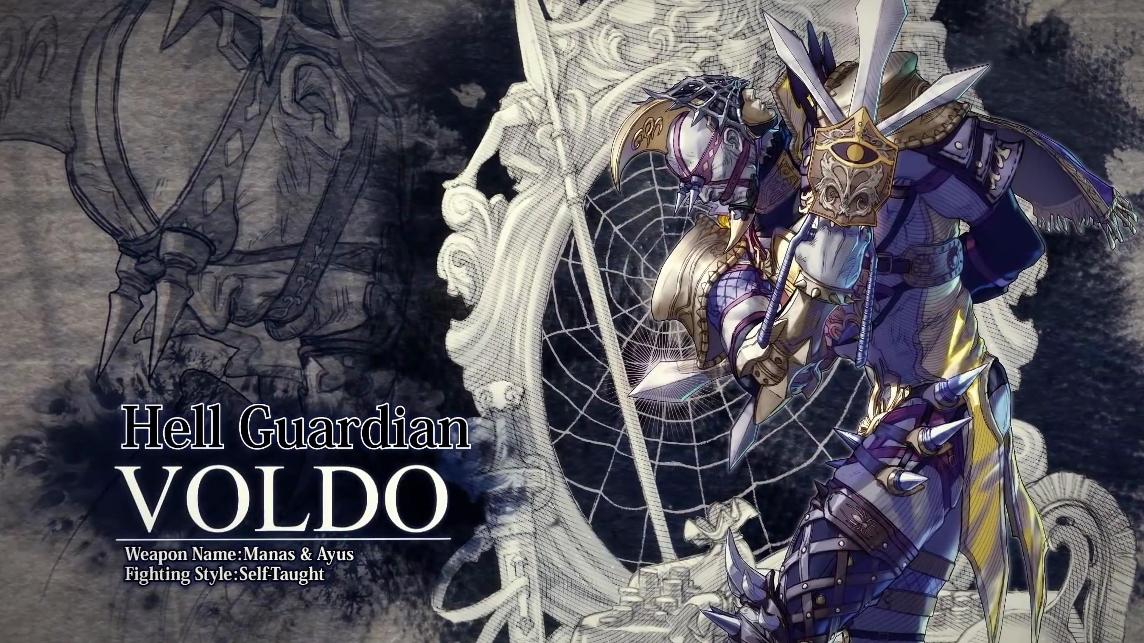 Вольдо - SoulCalibur 6 4K, Арт