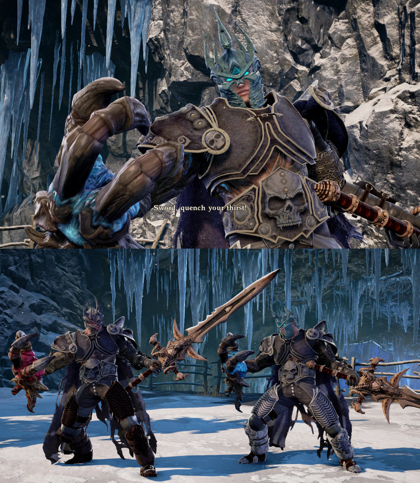 Lich King armor for Nightmare - SoulCalibur 6