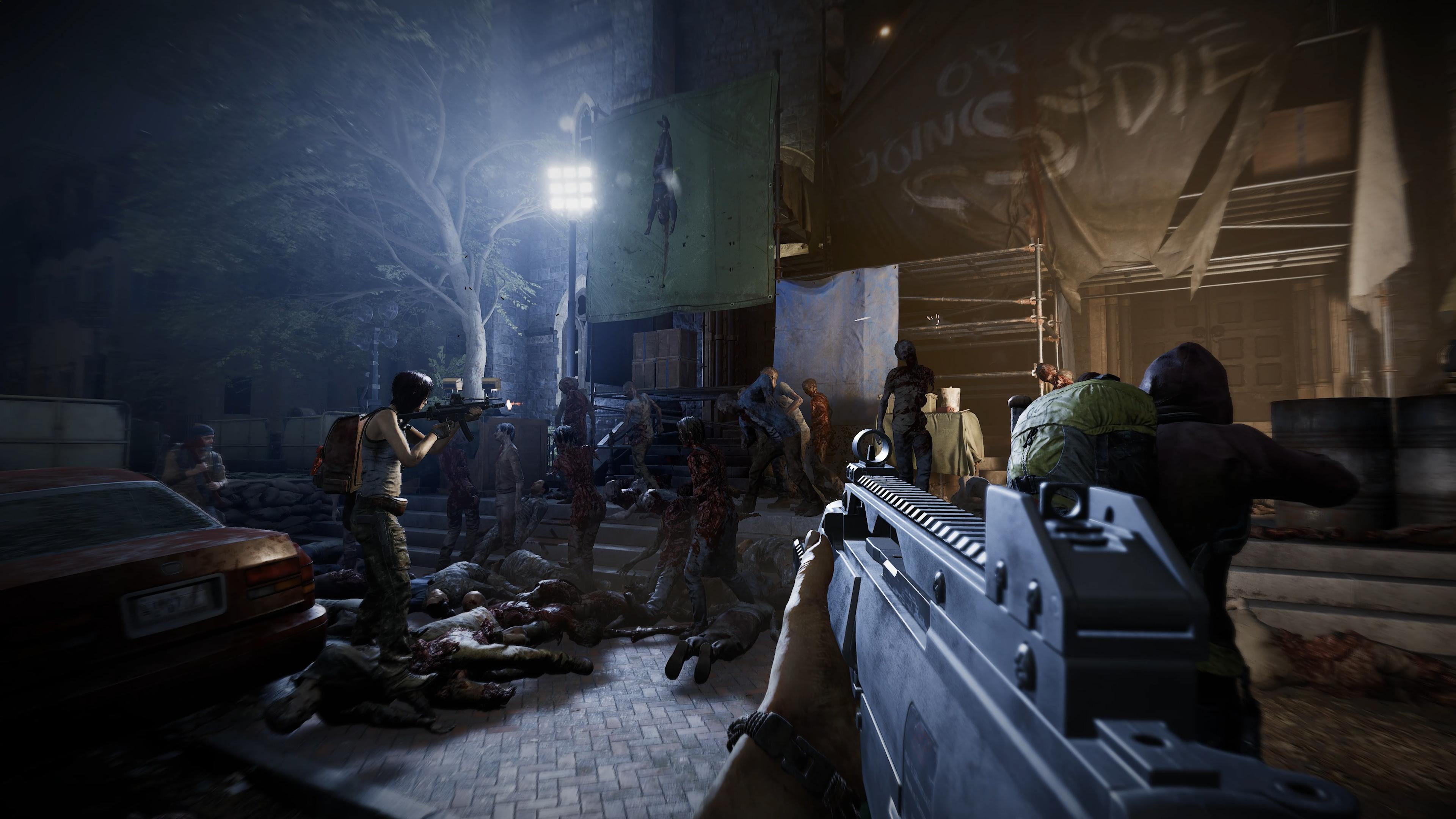 "S02E01 No Sanctuary ""Не укрыться"" - Overkill's The Walking Dead 4K, DLC"