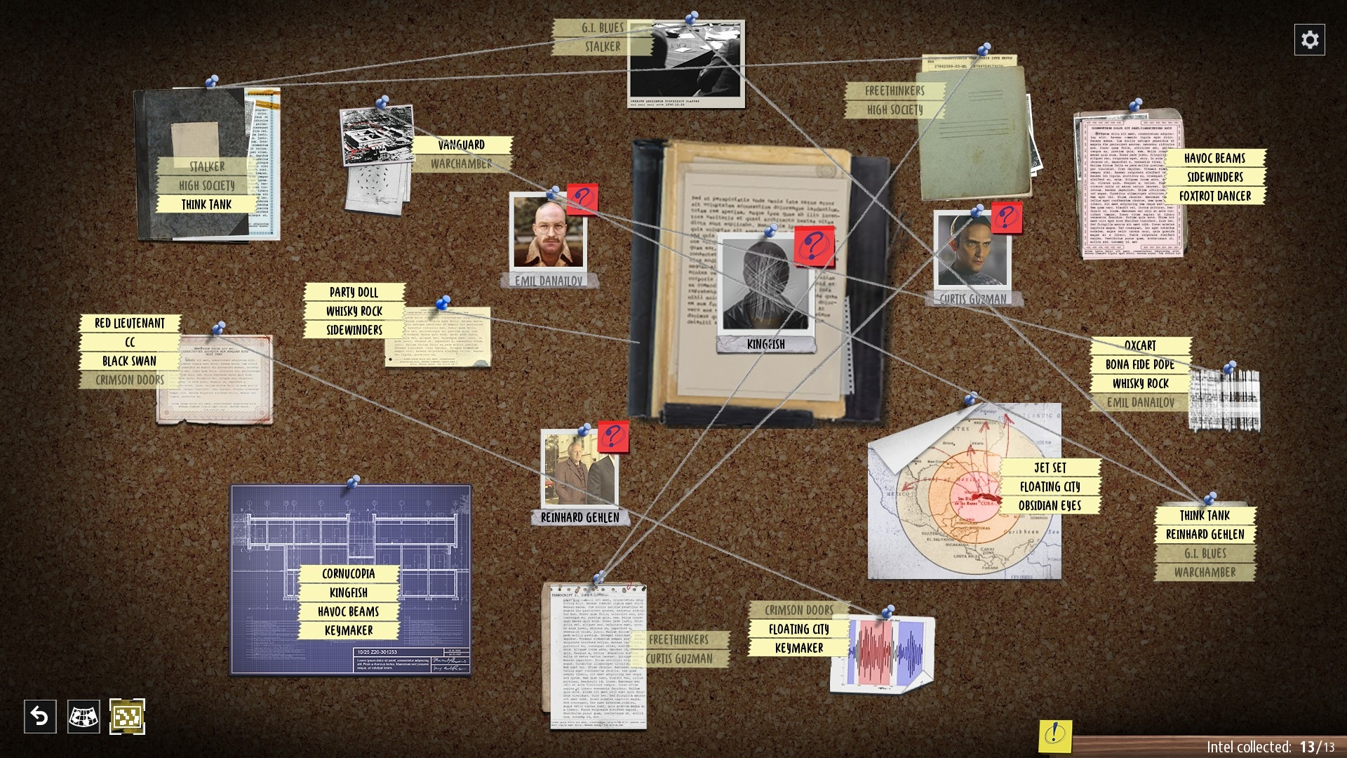 Геймплей - Phantom Doctrine