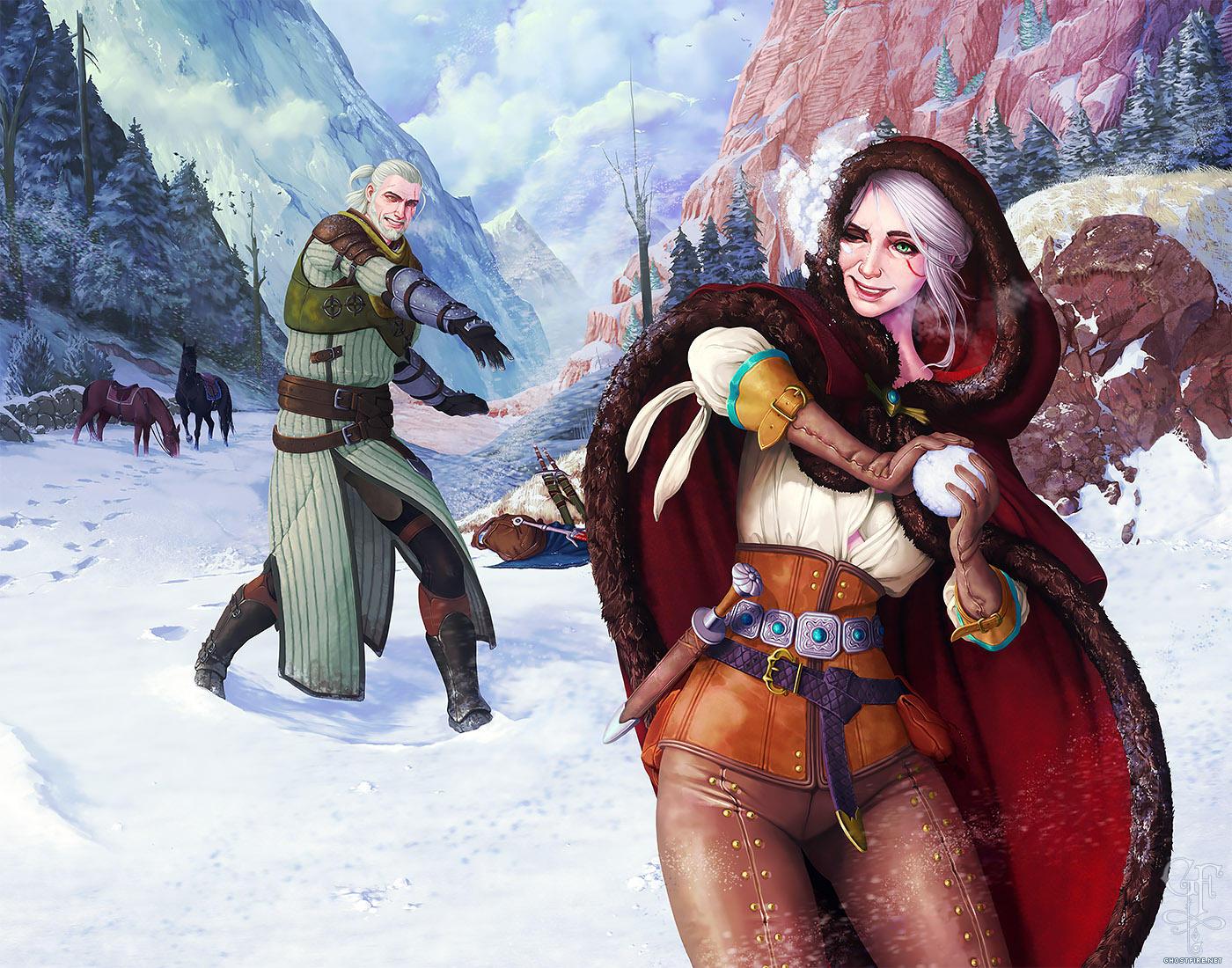 6FLbV7HF0ns.jpg - Witcher 3: Wild Hunt, the Арт