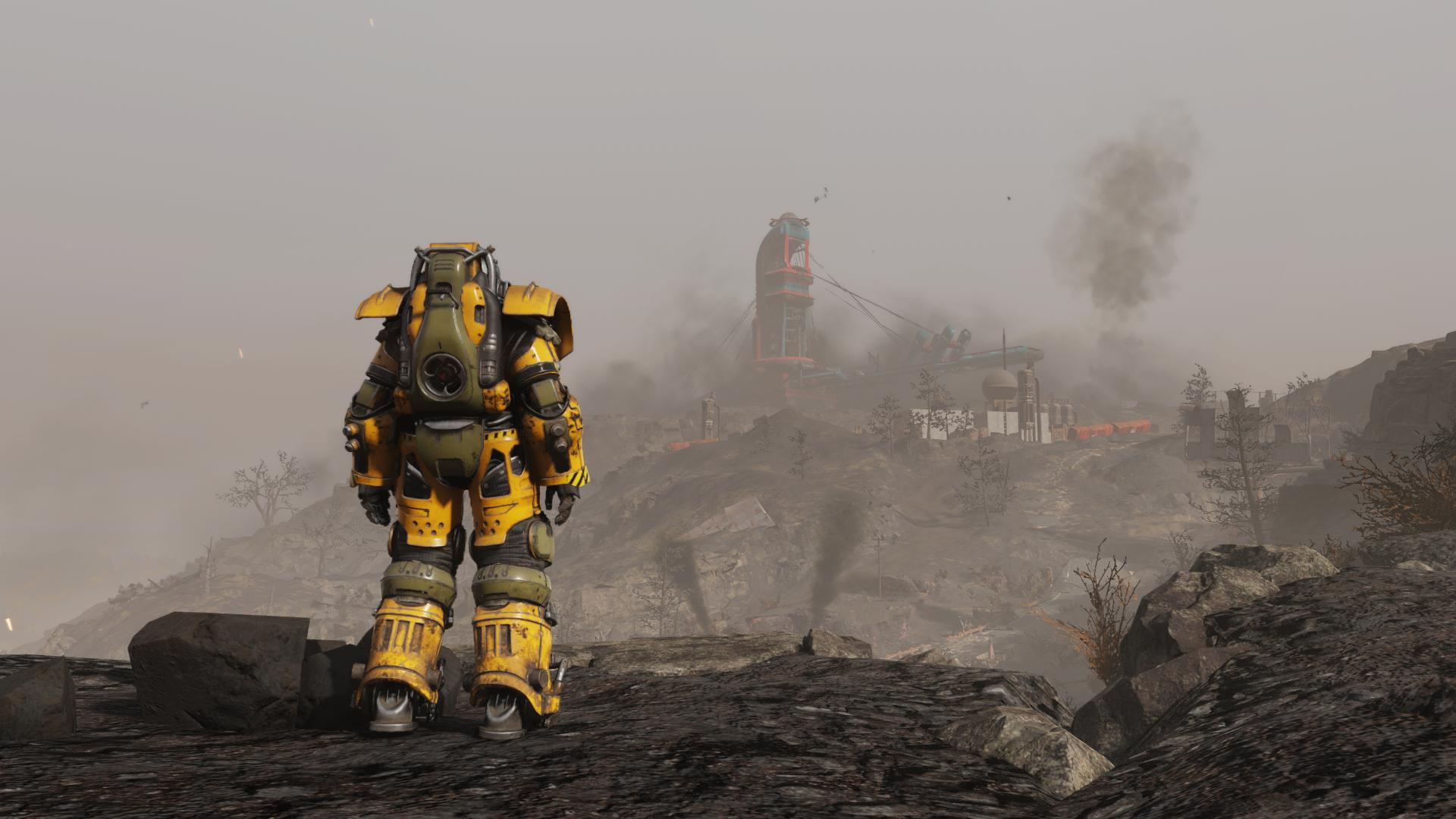 Вид на гору - Fallout 76