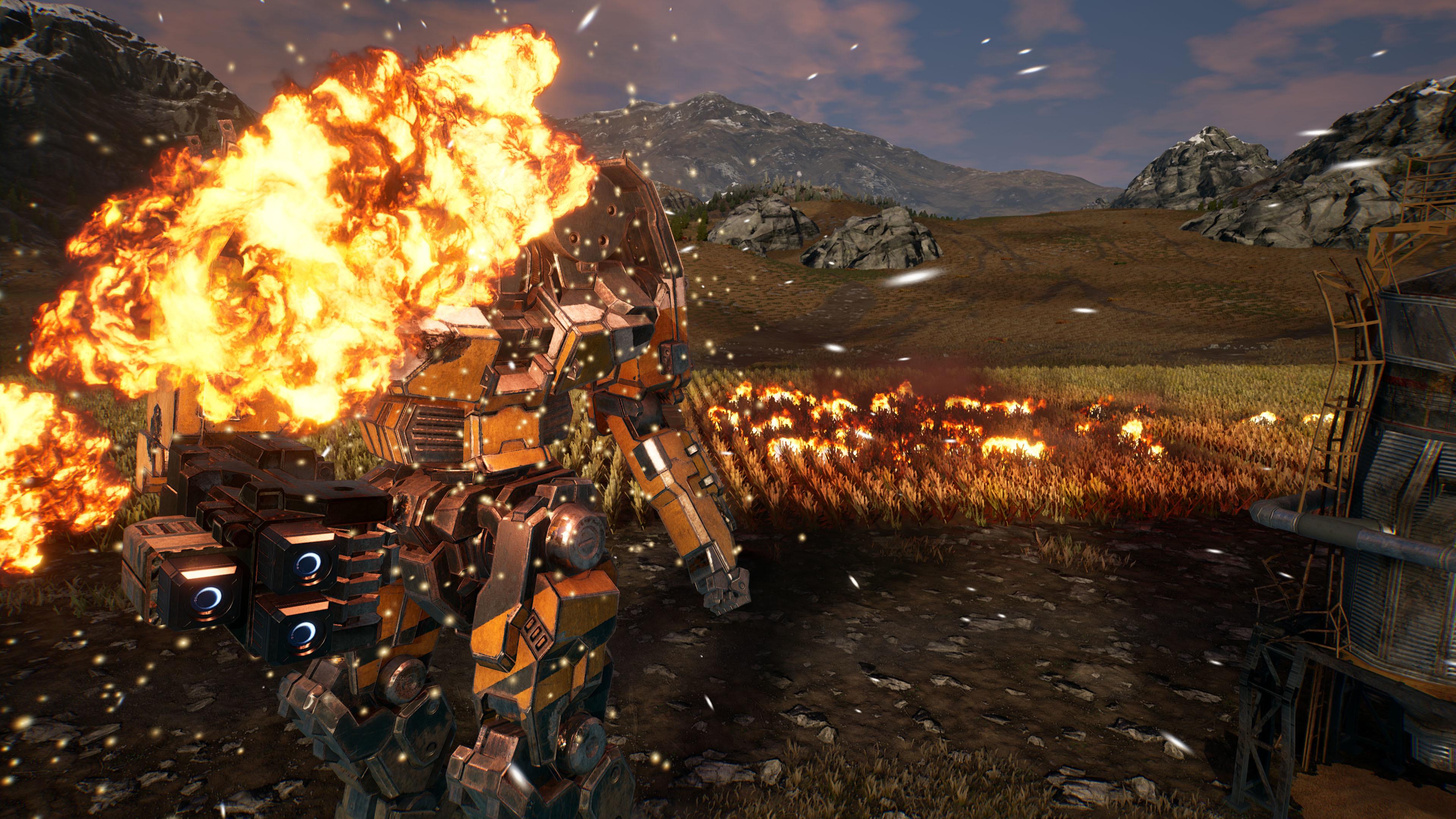 Мех - MechWarrior 5: Mercenaries 4K