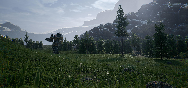 Растительность - MechWarrior 5: Mercenaries