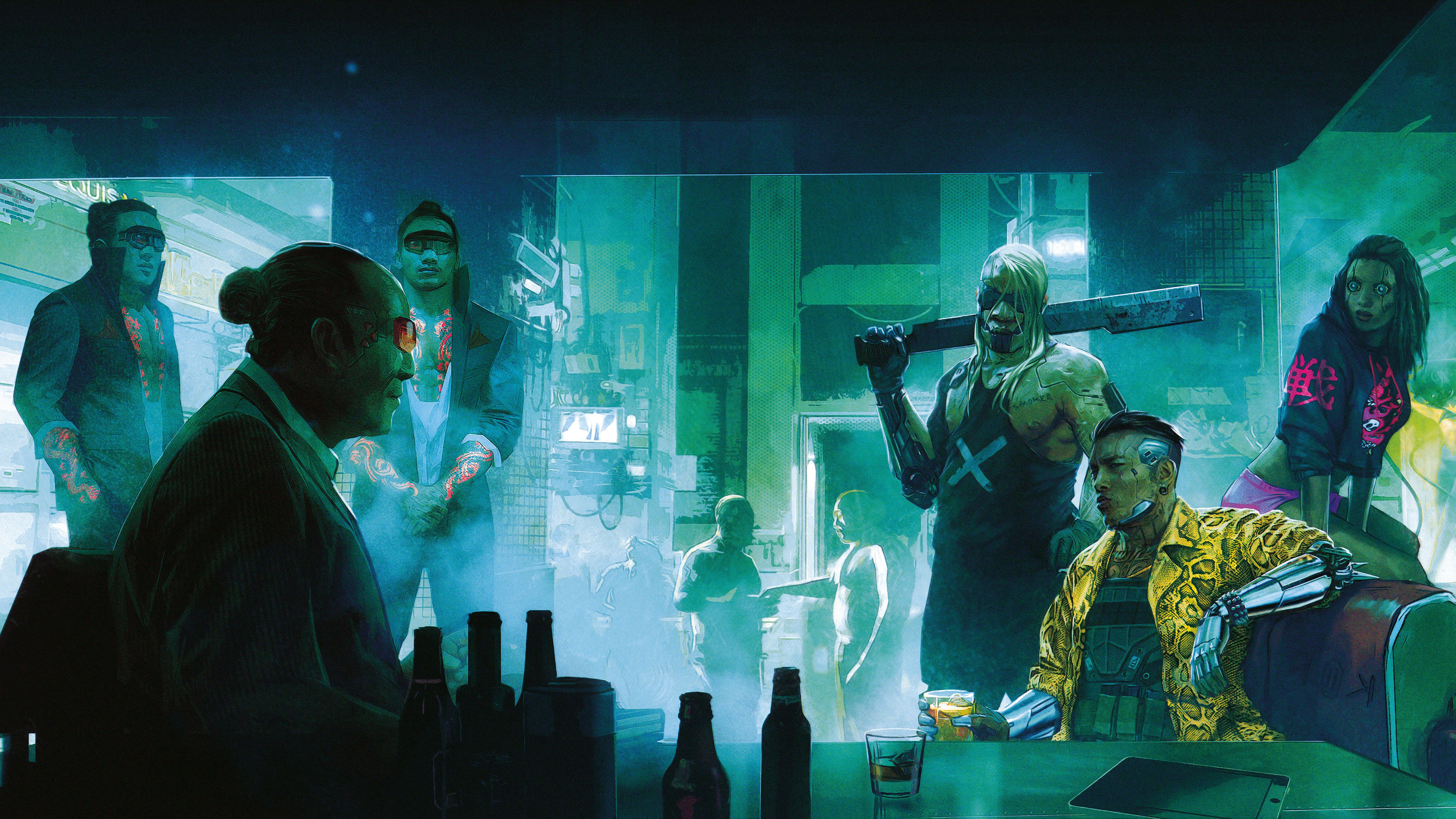 Cyberpunk 2077 - Cyberpunk 2077 8K, Арт