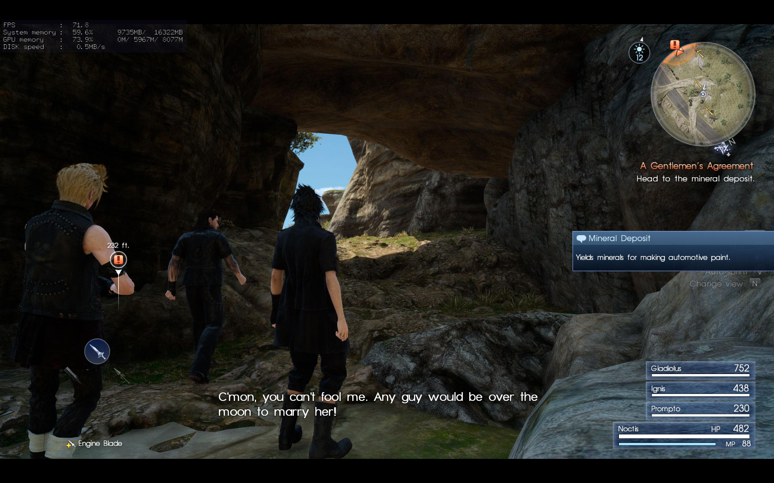 Максимальные настройки графики - Final Fantasy 15 2K