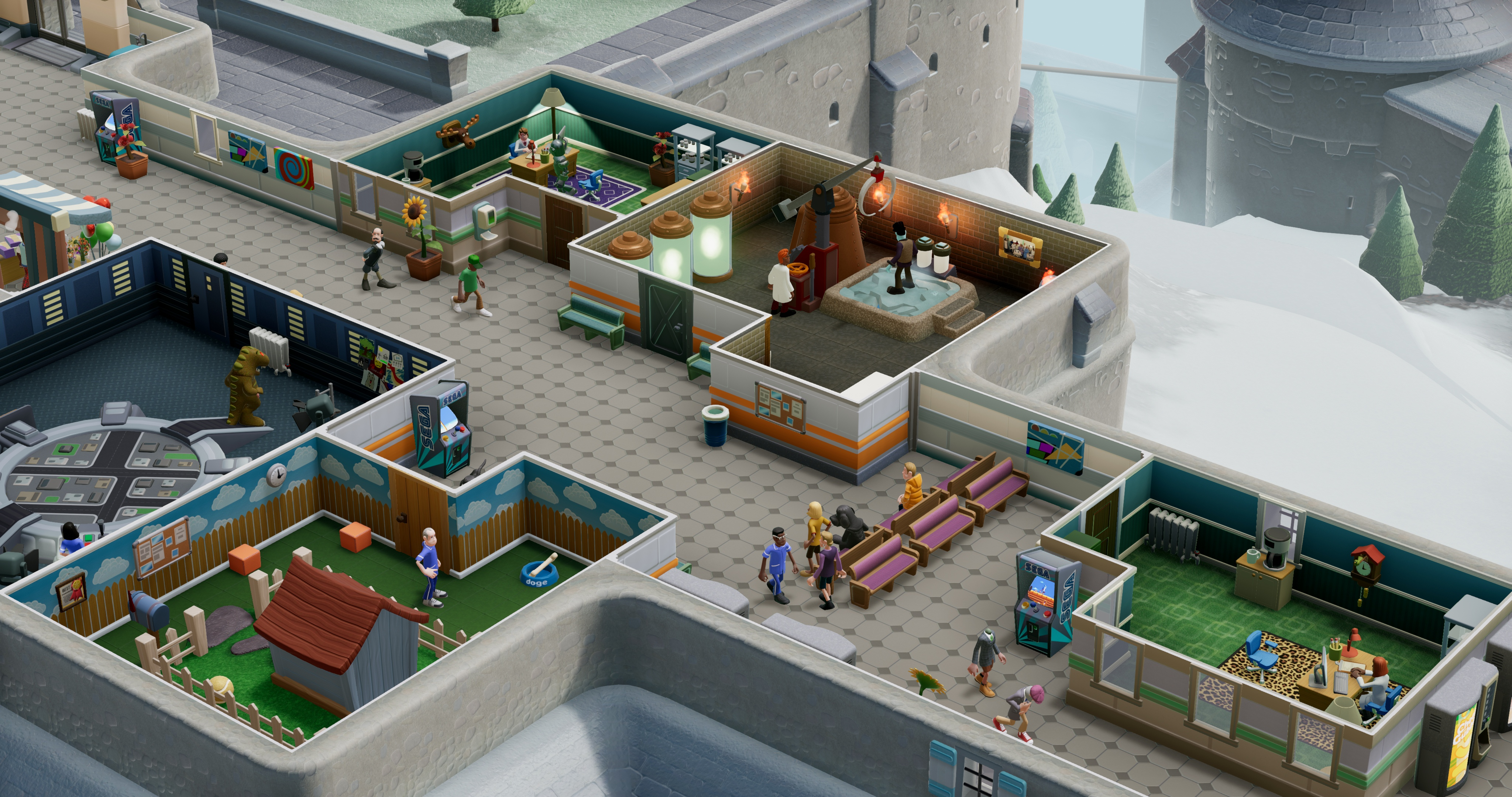 Бигфут - Two Point Hospital 4K, DLC