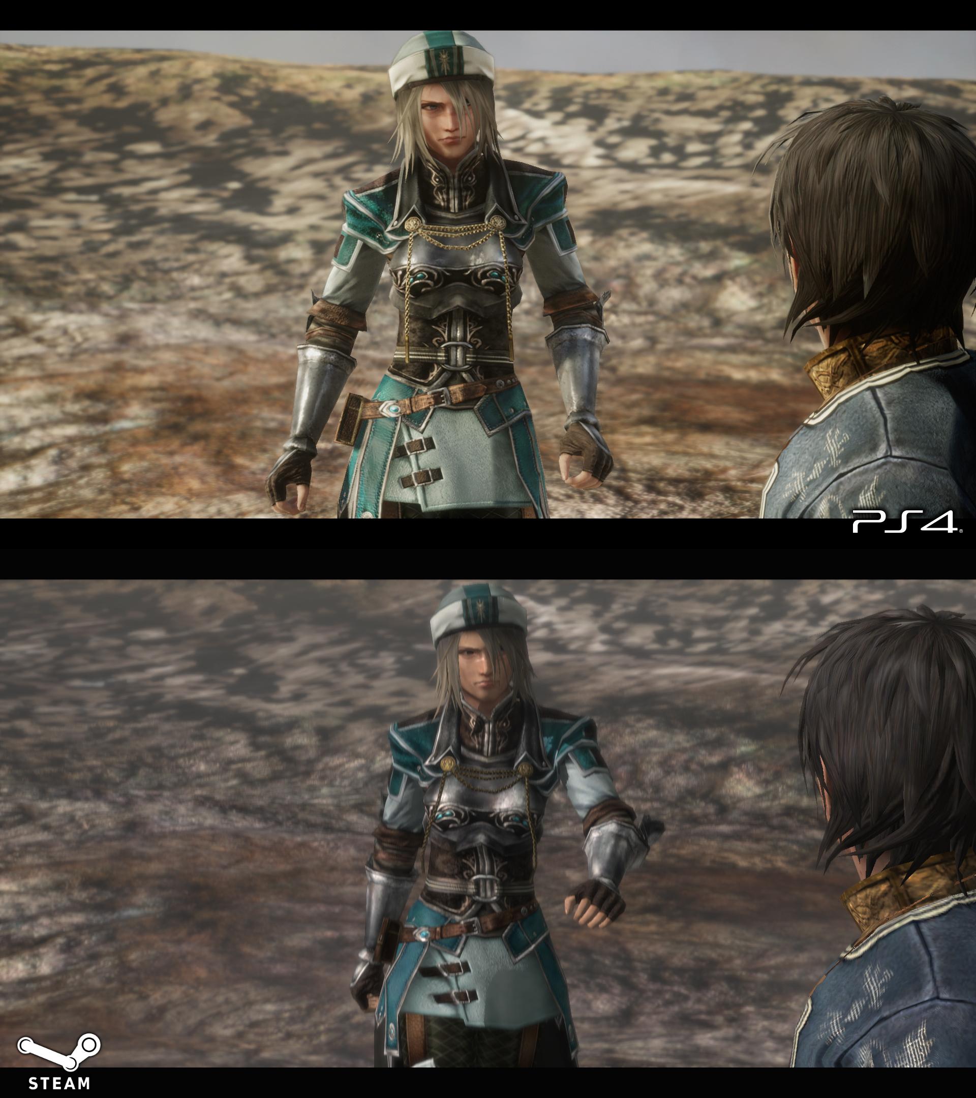 Сравнение графики на PS4 [Ремастер 2018] и ПК [2009] - Last Remnant, the