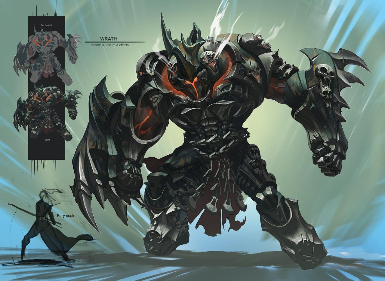 Гнев - Darksiders 3