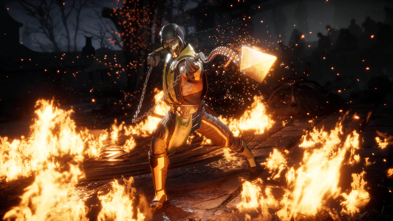 Скорпион - Mortal Kombat 11 6K