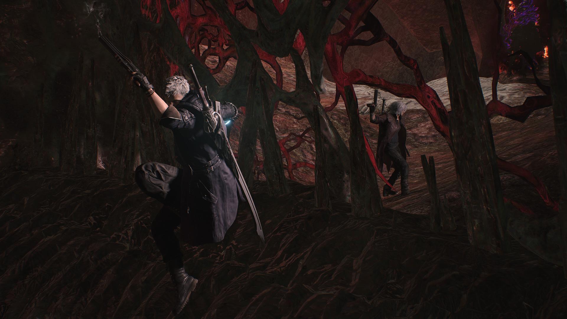 Сражение - Devil May Cry 5