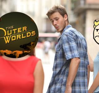 Галерея игры Outer Worlds, the