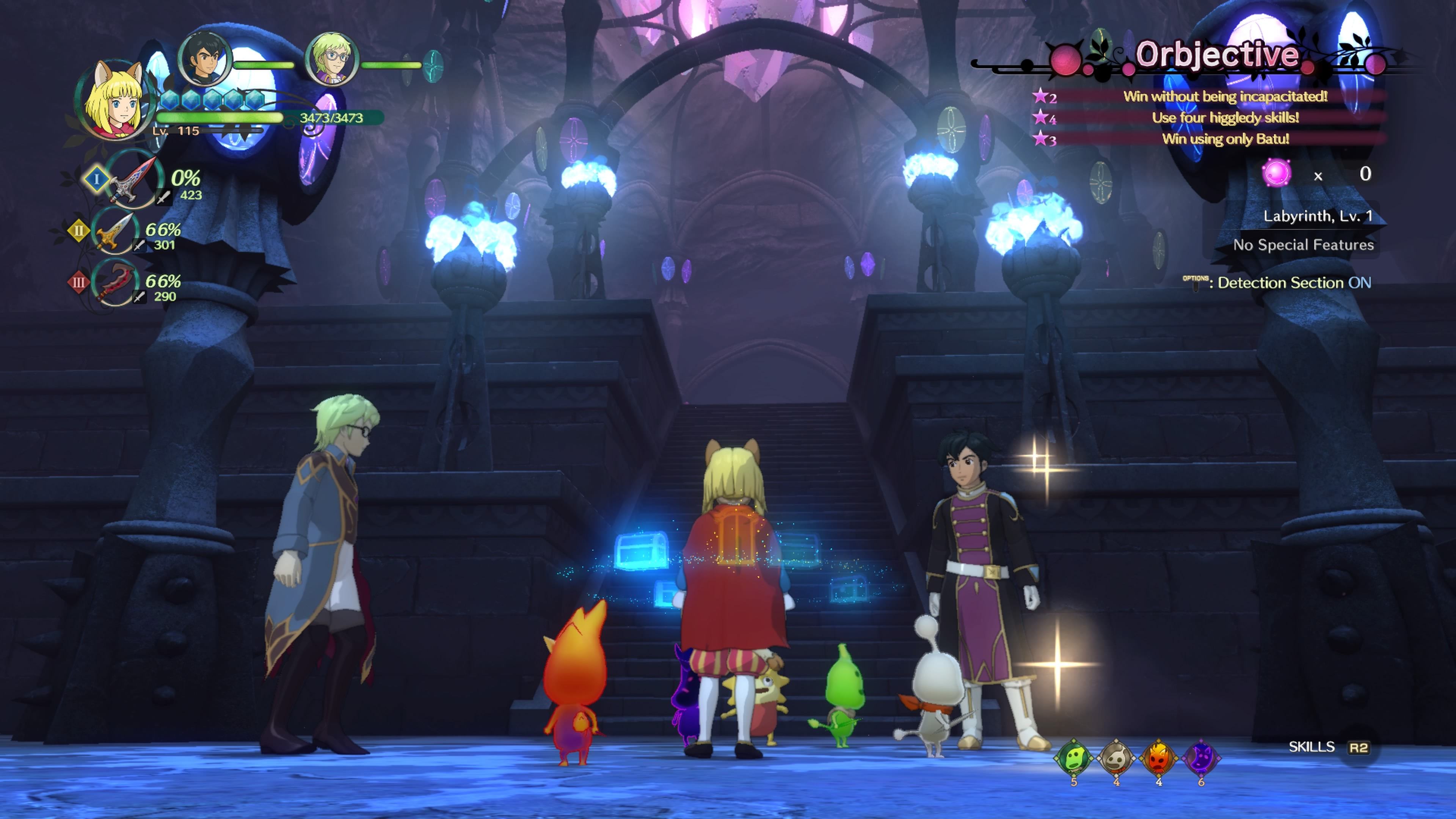 The Lair of the Lost Lord - Ni no Kuni 2: Revenant Kingdom 4K, DLC