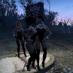 Fallout 4 Стоянка грузовиков