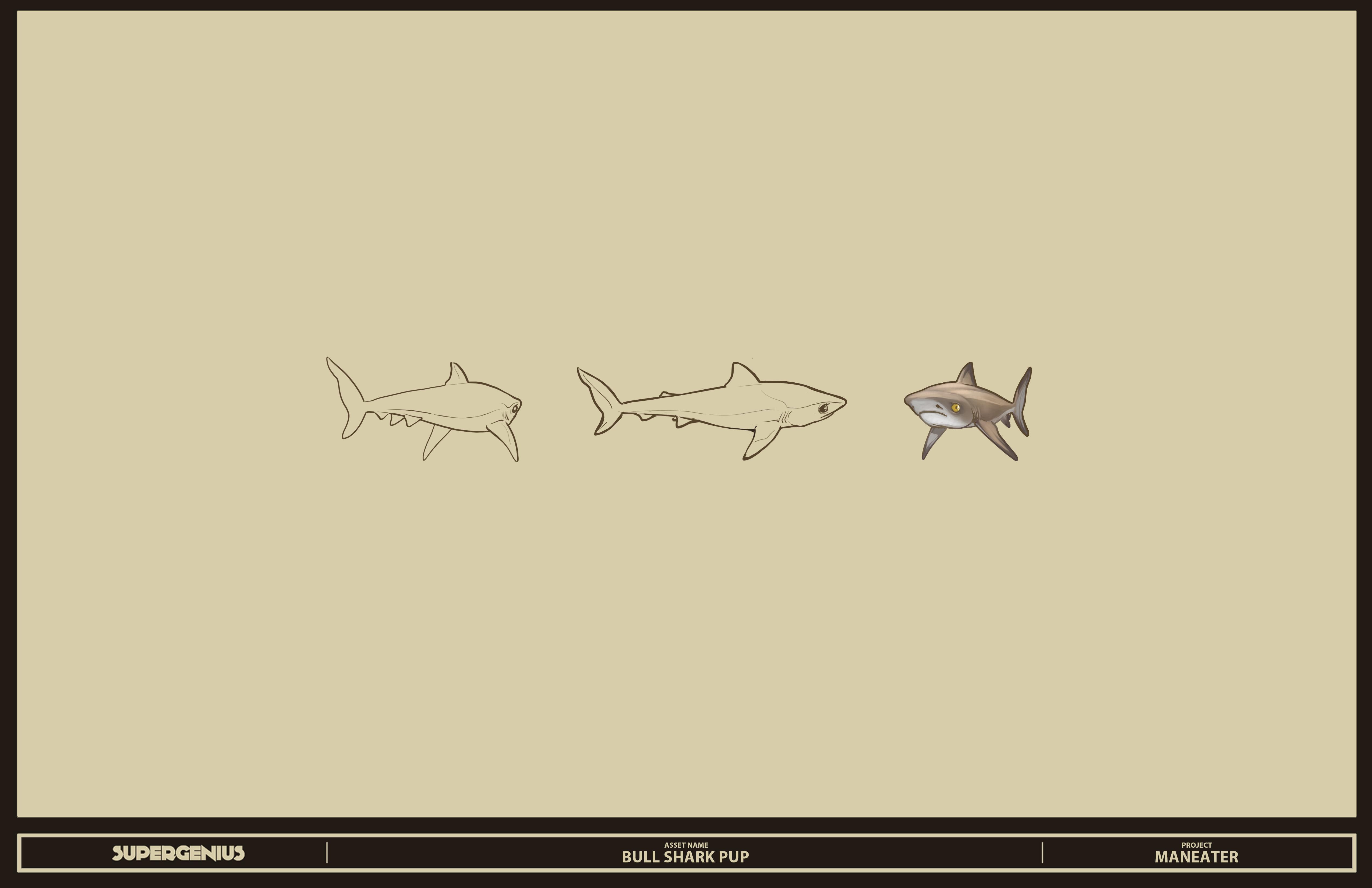 Акула - Maneater Арт