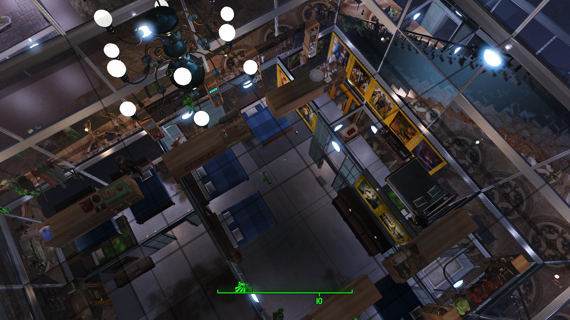 Вид сверху - Fallout 4