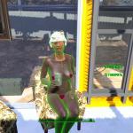 Fallout 4 Силовая броня разведцицы :)