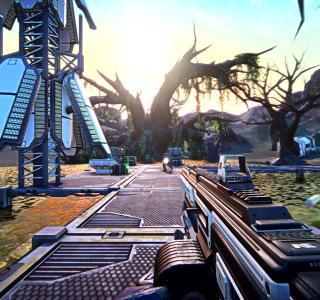 Галерея игры PlanetSide Arena