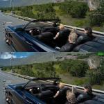 Final Fantasy 15 Сравнение TAA и DSSL