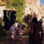 Assassin's Creed: Odyssey Какого х*я тут делает белый медведь ??