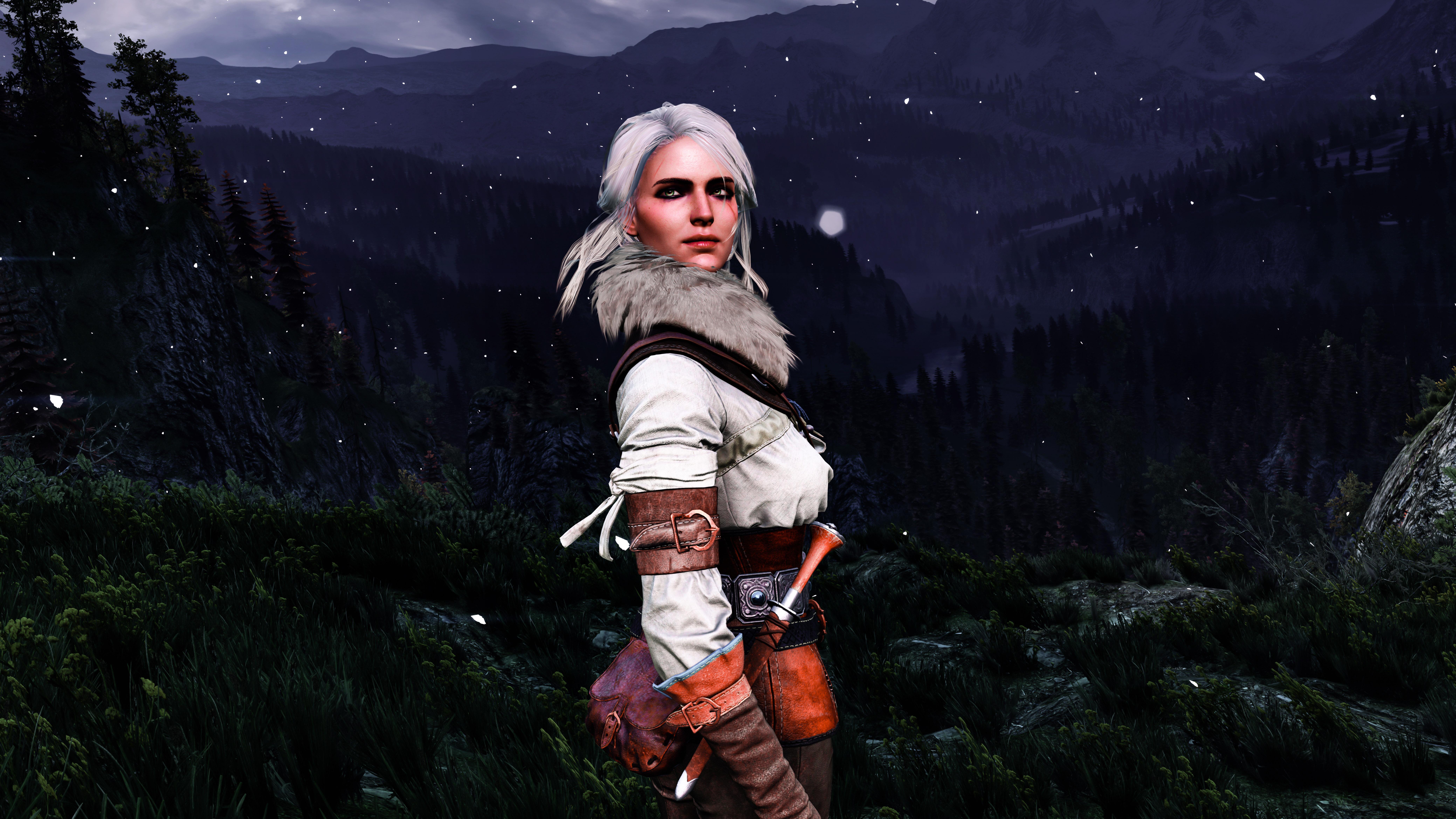 Цири - The Witcher 3: Wild Hunt