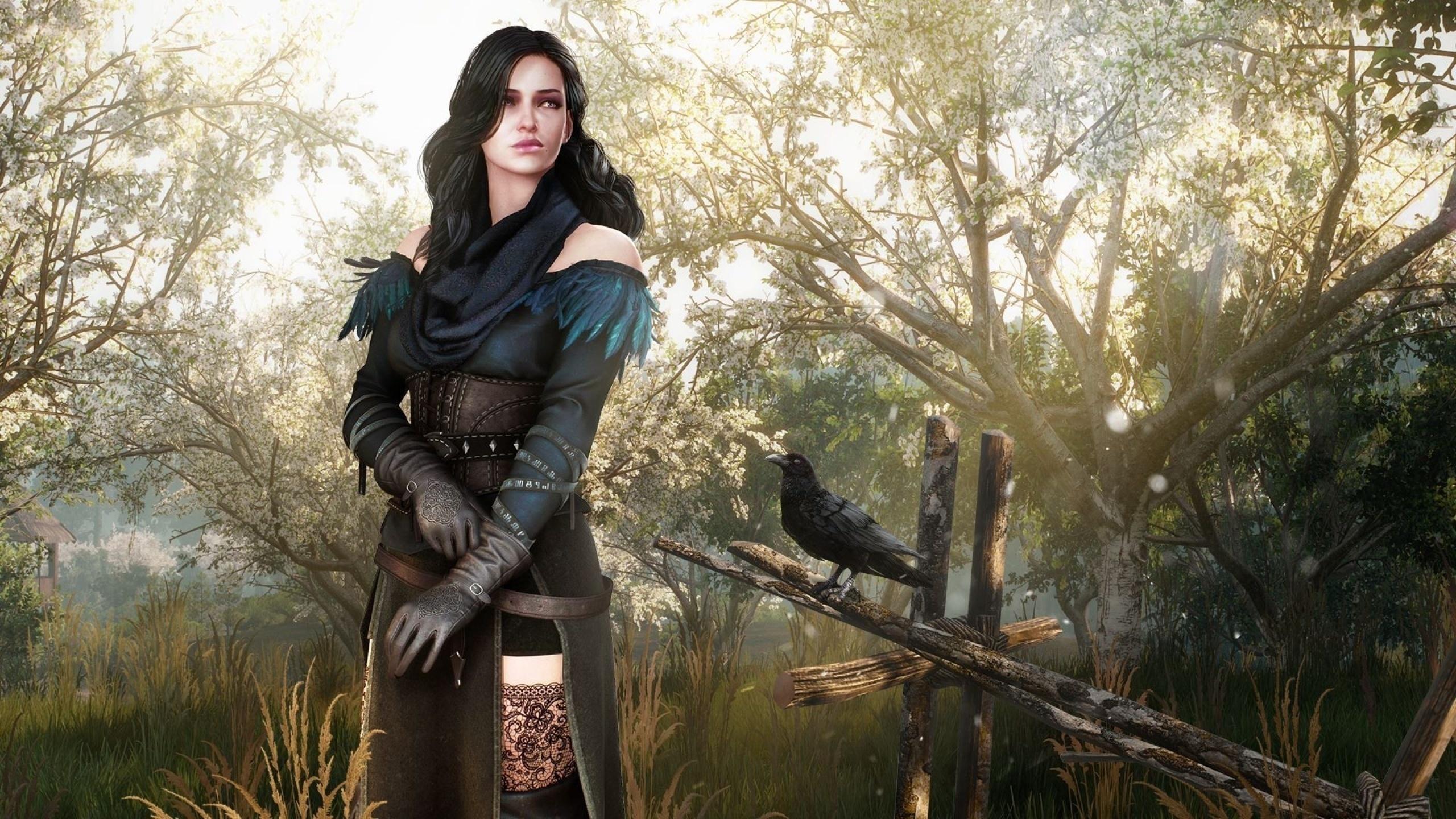 Йен в лесу - The Witcher 3: Wild Hunt