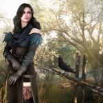 Witcher 3: Wild Hunt Йен в лесу