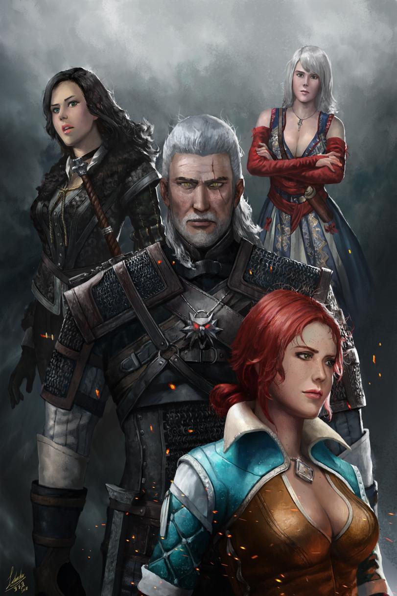 The-Witcher-фэндомы-Геральт-из-Ривии-Witcher-Персонажи-4908576.jpeg - The Witcher 3: Wild Hunt