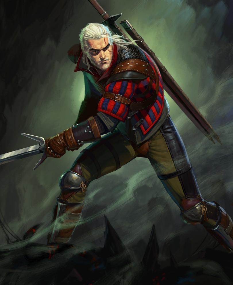 Геральт-из-Ривии-Witcher-Персонажи-The-Witcher-фэндомы-4906900.jpeg - The Witcher 3: Wild Hunt