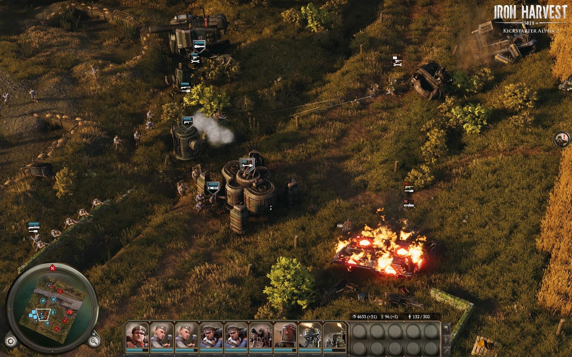 Альфа-версия - Iron Harvest