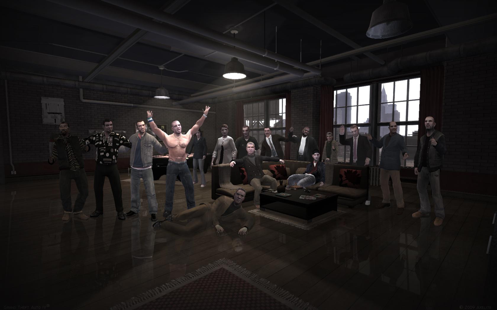Бандитский Либерти - 2 - Grand Theft Auto 4
