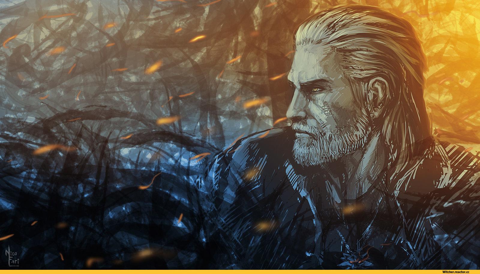 Геральт, Арт - Witcher 3: Wild Hunt, the Арт