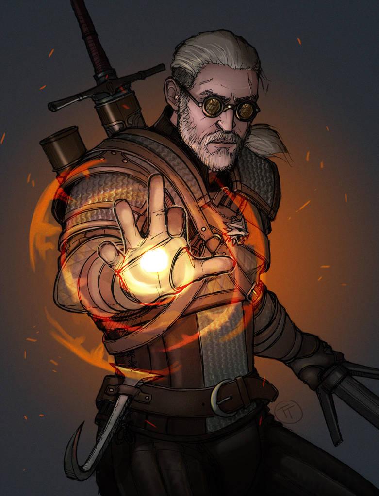 Игни - Witcher 3: Wild Hunt, the