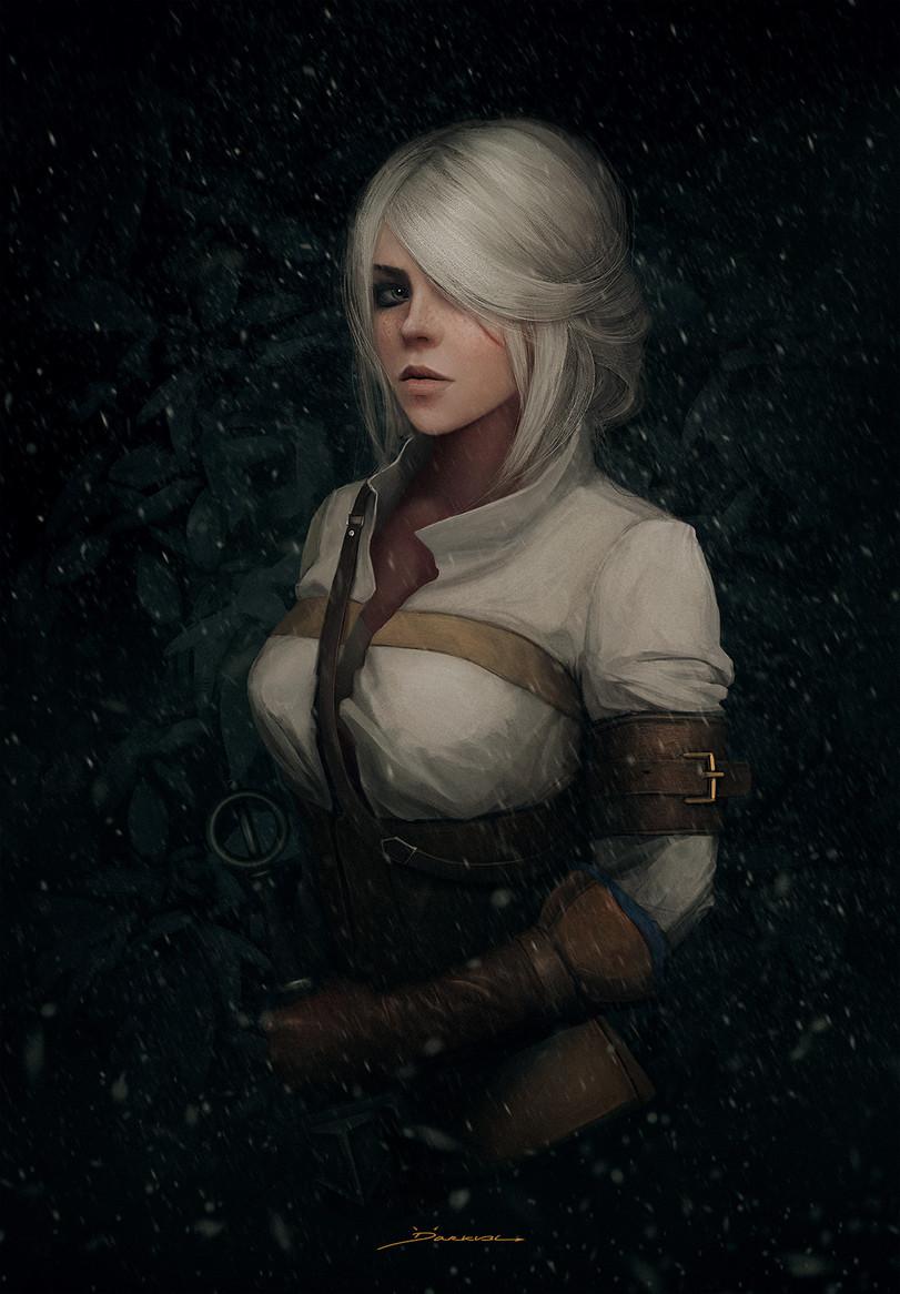 Цири-Witcher-Персонажи-The-Witcher-фэндомы-4920131.jpeg - Witcher 3: Wild Hunt, the