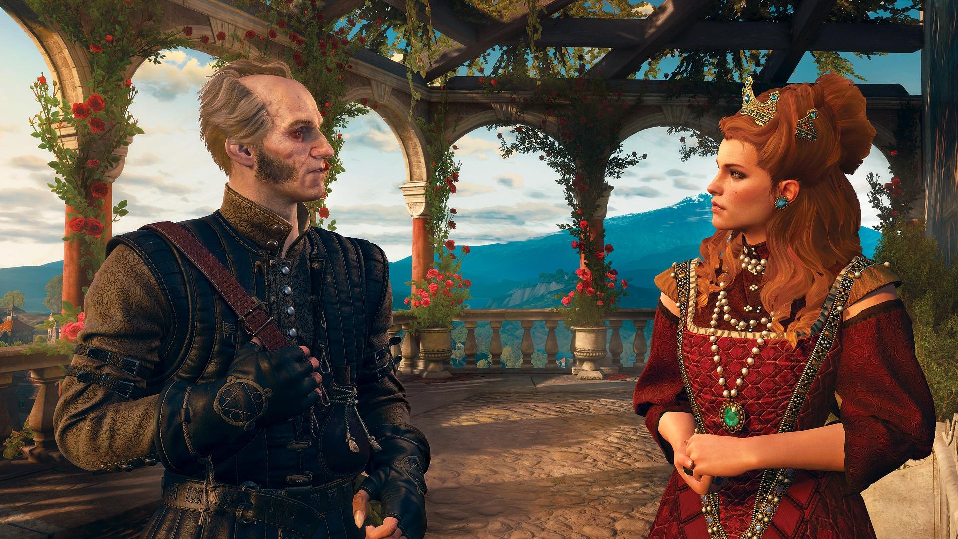 Регис и Анна Генриетта - Witcher 3: Wild Hunt, the