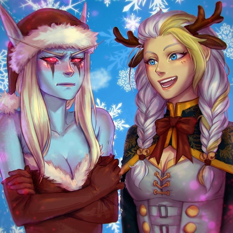 Сильвана-Warcraft-Blizzard-фэндомы-4922320.jpeg - World of Warcraft