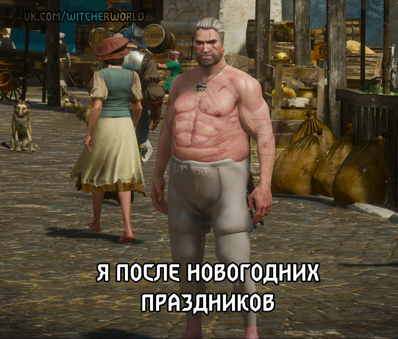 Ведьмак-Мемы - Witcher 3: Wild Hunt, the