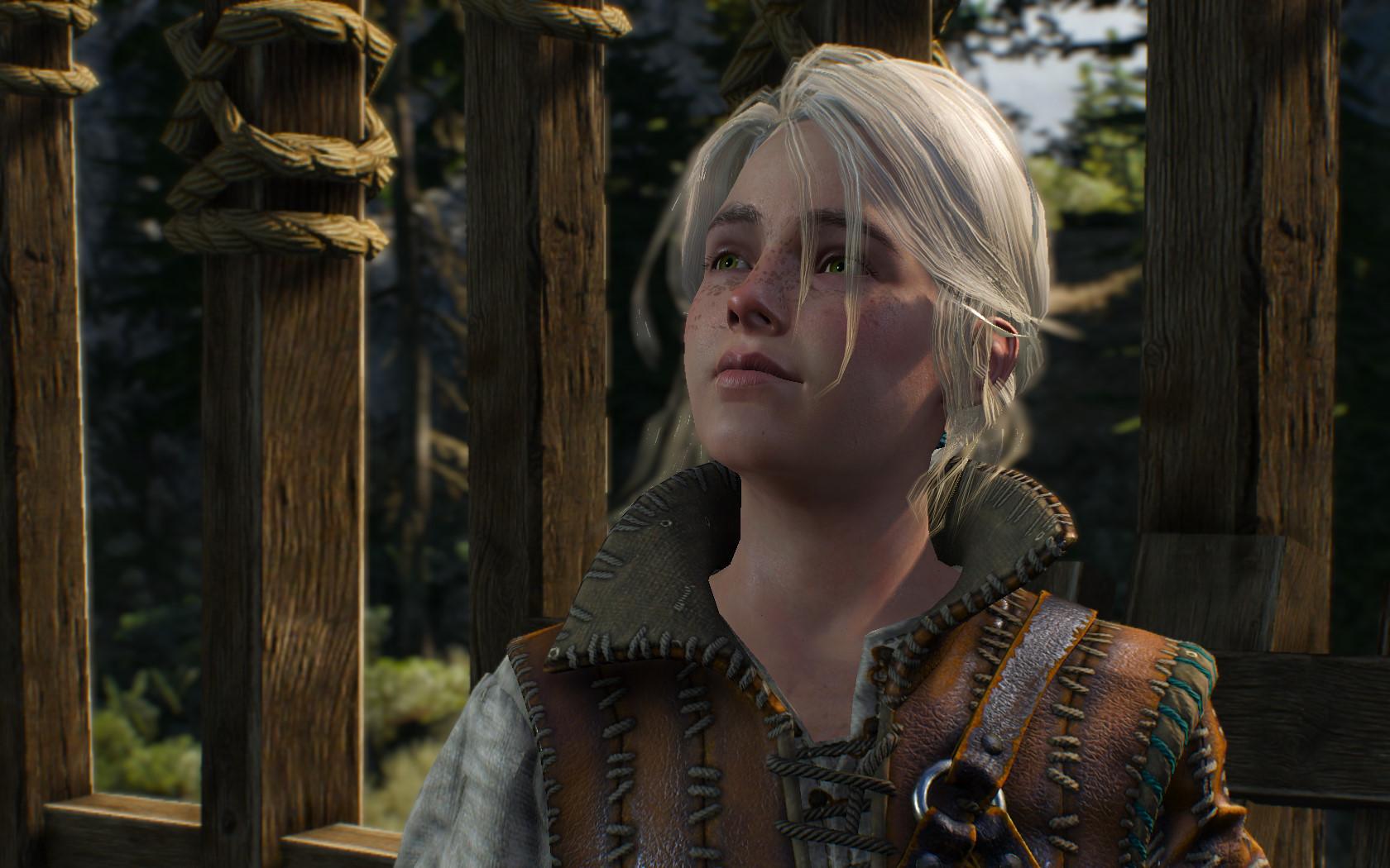 Цири - Witcher 3: Wild Hunt, the