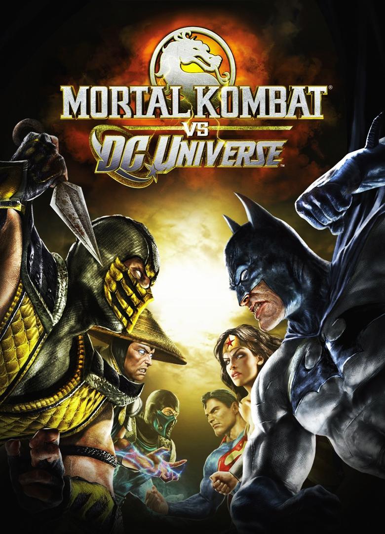 Обложка - Mortal Kombat vs. DC Universe
