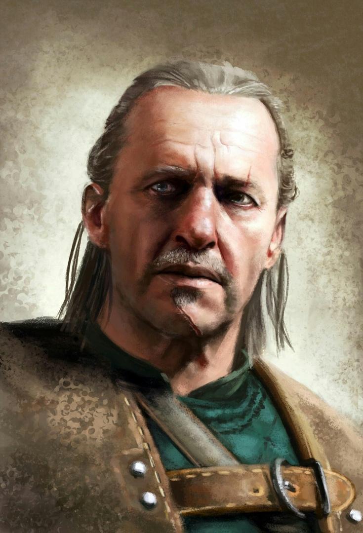 Весемир - Witcher 3: Wild Hunt, the