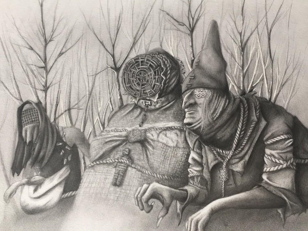 Ведьмы арт - Witcher 3: Wild Hunt, the