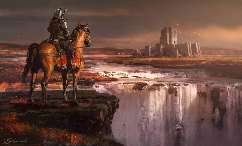 castle_by_dleoblack_dctr3cr-fullview.jpg - Witcher 3: Wild Hunt, the
