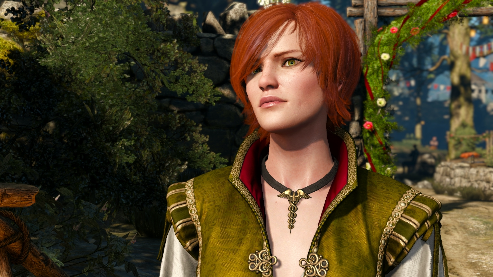 Шани - Witcher 3: Wild Hunt, the