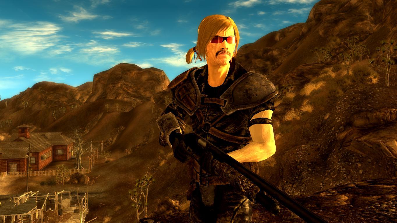 Возвращение Блондина - Fallout: New Vegas