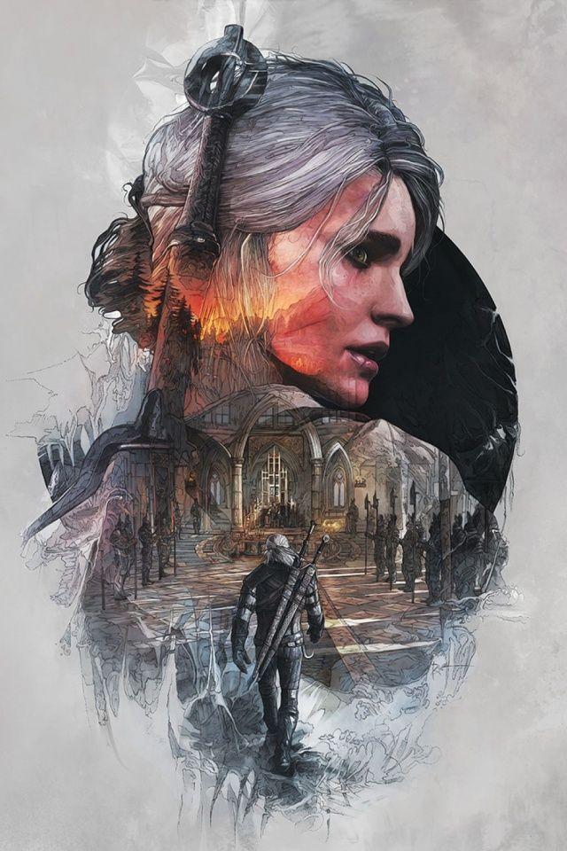 Фан-арт на Цири - Witcher 3: Wild Hunt, the Арт, Цири