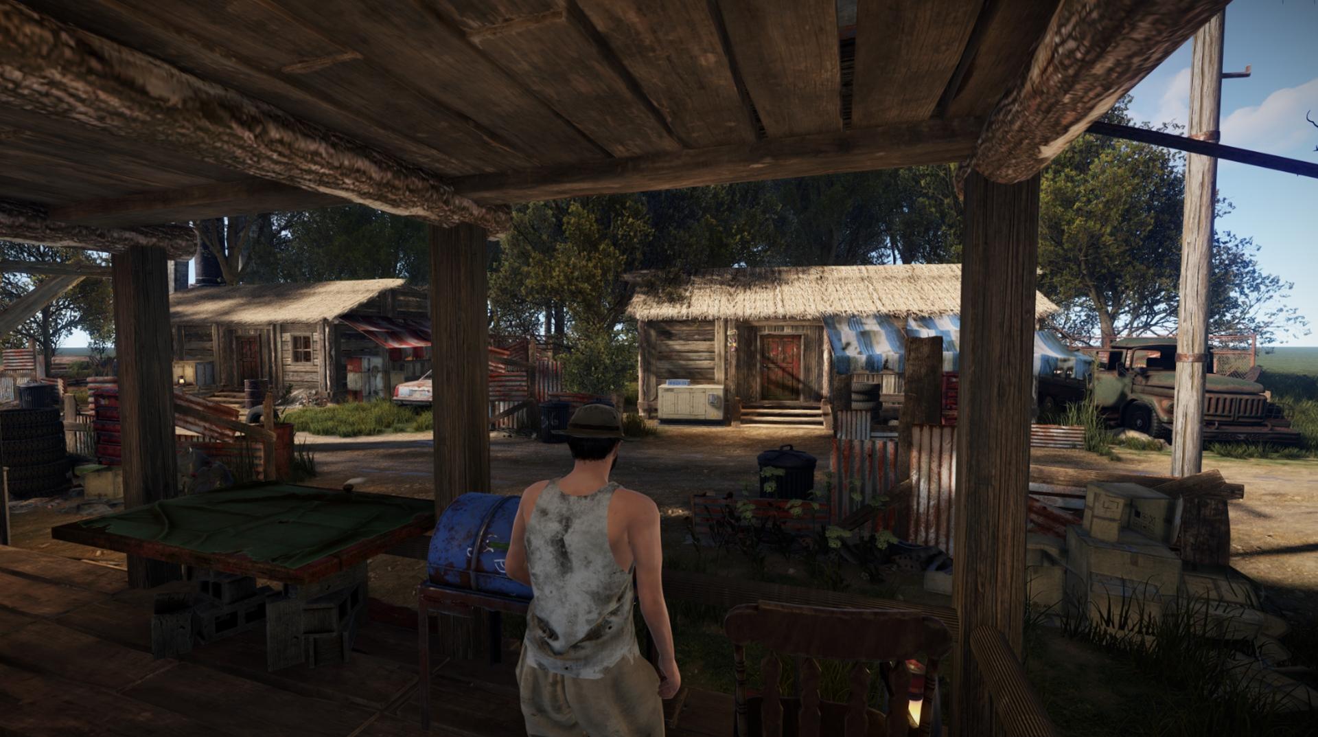 Деревня - Rust