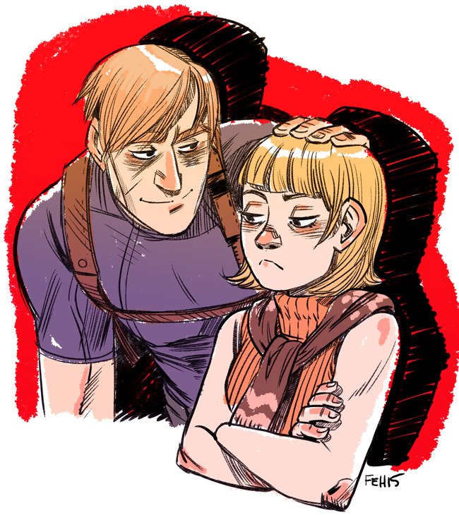 tumblr_ni4ij36z5z1r02jobo1_1280.jpg - Resident Evil 4 Леон С. Кеннеди, Эшли Грэм