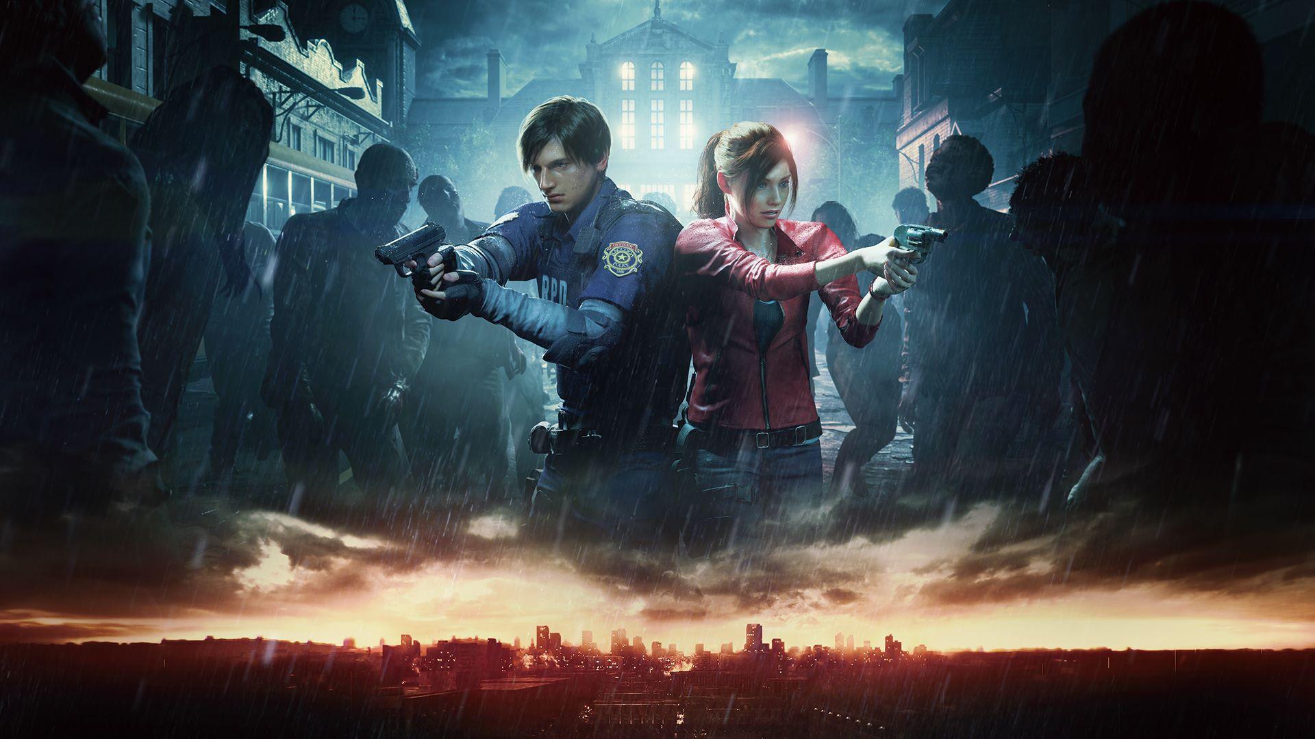 re2.jpg - Resident Evil 2 Обои