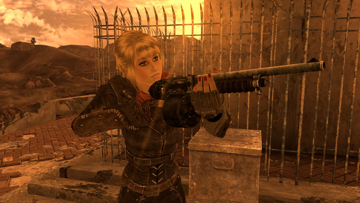 """""""Леди Удача"""". - Fallout: New Vegas"""